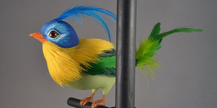 Disneyland Tiki Bird Kevin Kidney