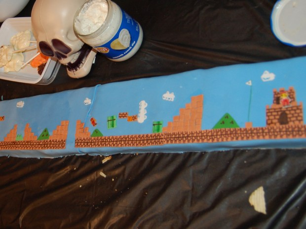 Playable Super Mario Cake