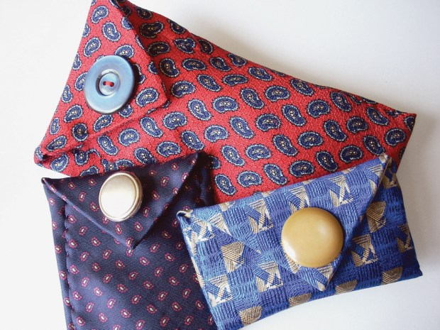 Necktie Glasses Case