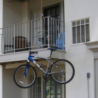 Swiveling Balcony&nbsp;Hoist