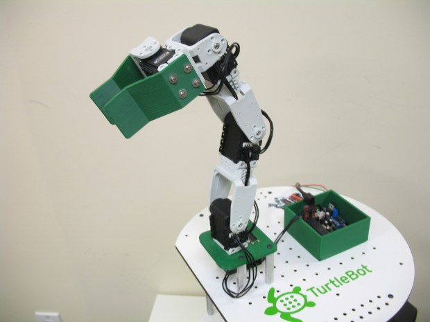 Wiring and Attaching an Arm to Your&nbsp;TurtleBot