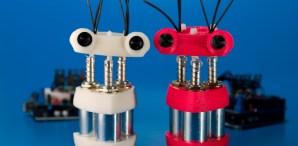 Spazzi: A Solenoid PoweredDancebot