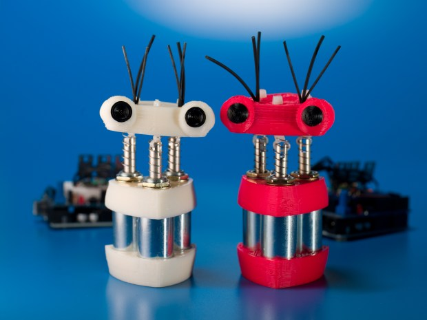 Spazzi: A Solenoid Powered Dancebot