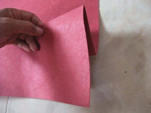 Origami Letter Holder