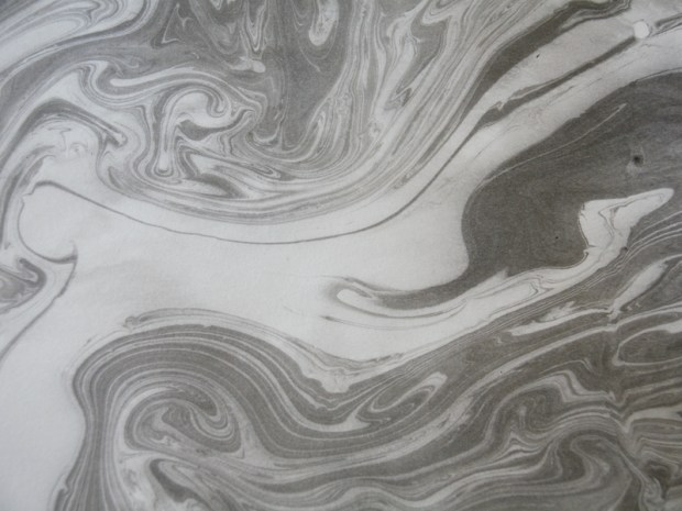 Japanese Sumi Ink&nbsp;Marbling
