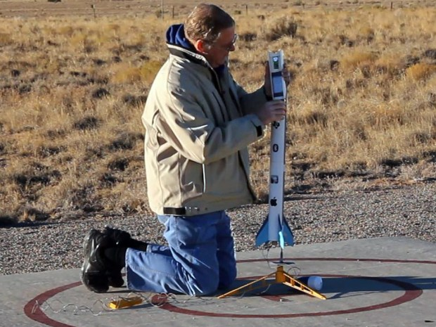 iPhone Flies on a Rocket: Collect and Analyze&nbsp;Data!