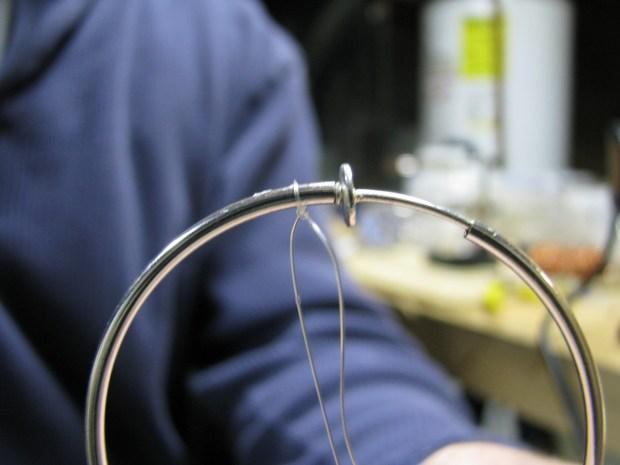 LED Hoop Earring, MkI