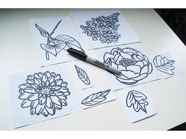 No-Carve Stamps