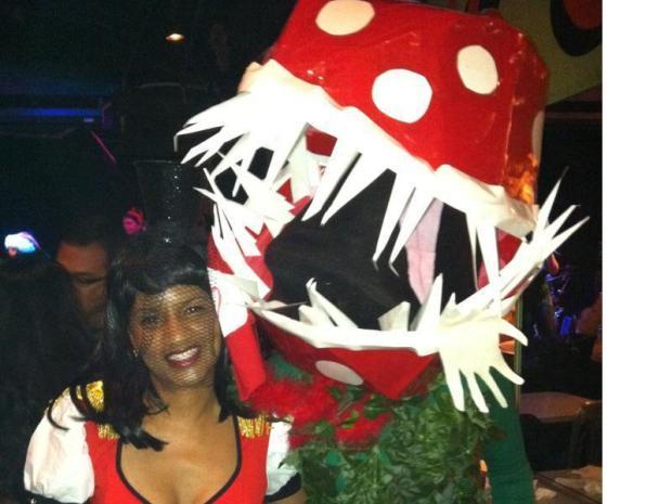 Piranha Plant Costume