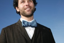 Crocheted Bow&nbsp;Tie
