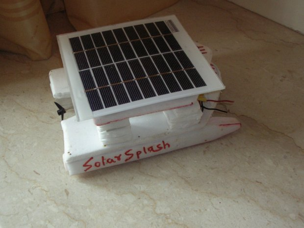 Solar-Powered Boat Prototype