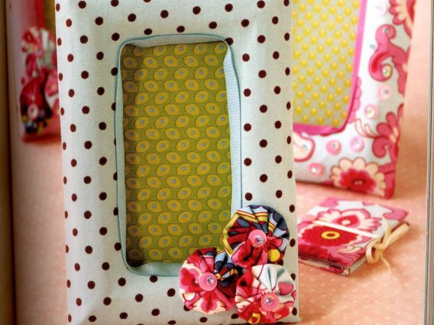 Fabric Frames | MAKE