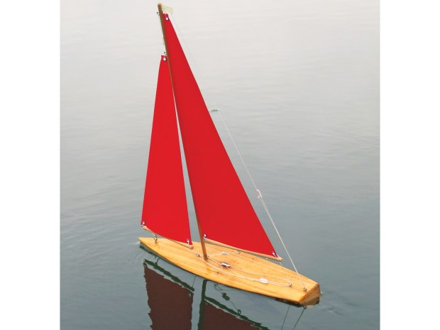 Wooden Mini Yacht