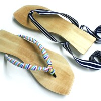Ribbon-Tie&nbsp;Sandals