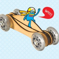 Fast Toy Wood&nbsp;Car