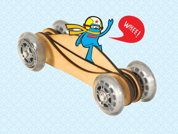 Fast Toy WoodCar