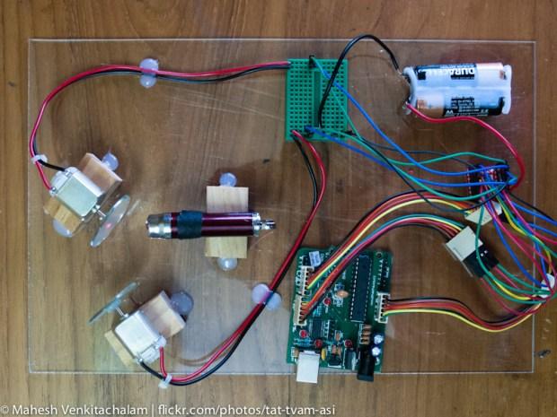 Laser Lissajous with AudioSync