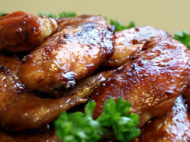 Bourbon Chicken Wings