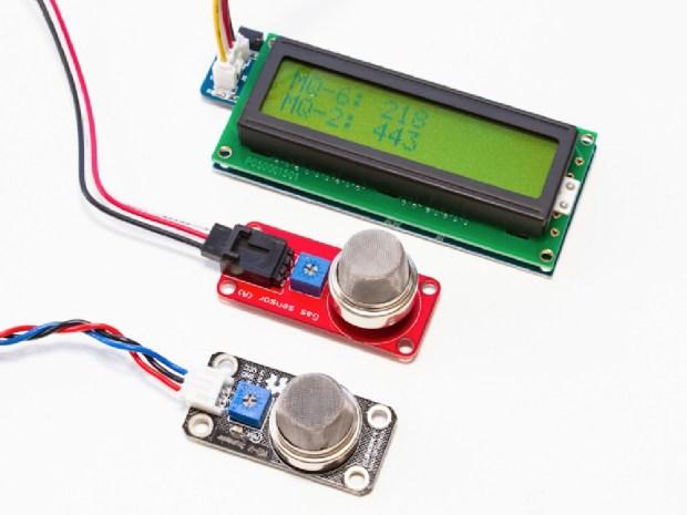 Tropospheric Gas Detector