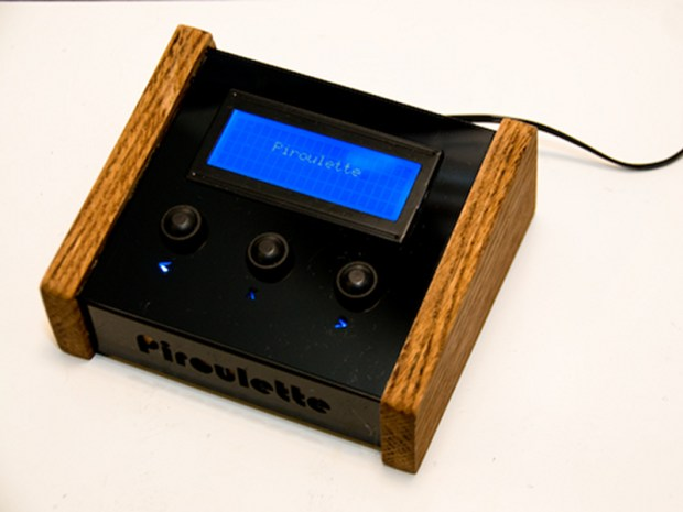 Piroulette: A Machine That Predicts Your Last&nbsp;Words