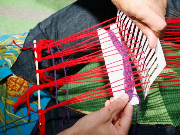 Paper Pocket Loom