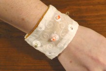 Soft-Circuit LED Bracelet