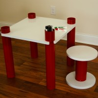 PVC Kids&#8217; Table and&nbsp;Stool