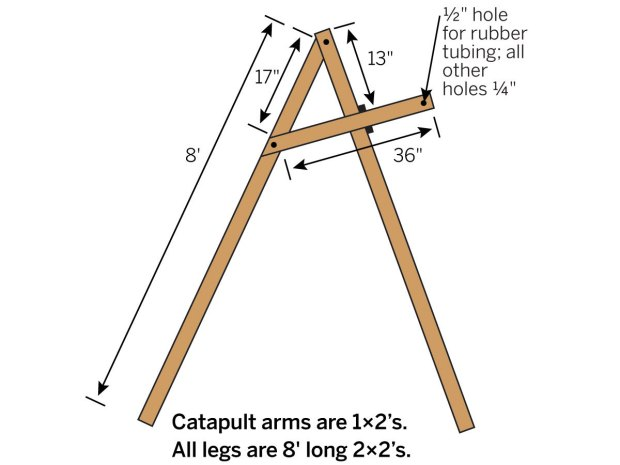 Catapult Glider Launcher