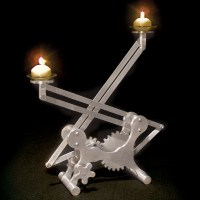 Geared&nbsp;Candleholder