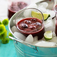 Blackberry Lime&nbsp;Spritzer