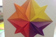 Origami Star &amp; Greeting&nbsp;Card