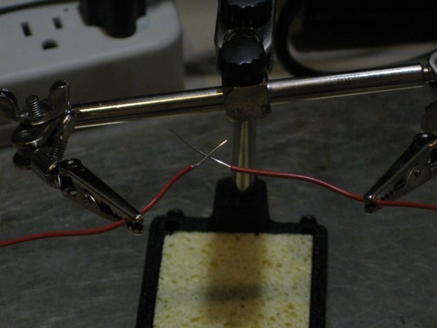 Use a Soldering Iron