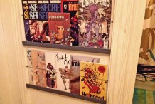 Easy Comic Book or Magazine Shelves