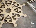 Snowflake Coasters