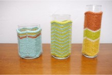Missoni-Style Vase&nbsp;Cozies