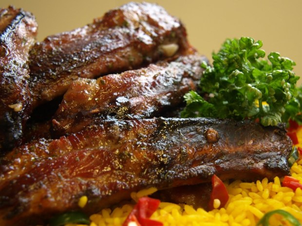 Honey Barbecue Ribs