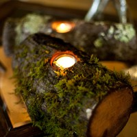 Rustic Woodland&nbsp;Candleholders