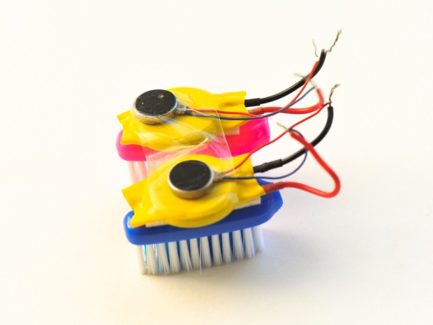 Building BrushBot Kits