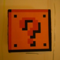Mario Coin Block&nbsp;Lamp