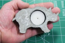 Concrete Tea Light&nbsp;Holder