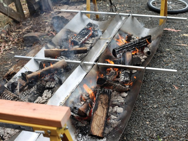 Solar-Powered Roasting Spit