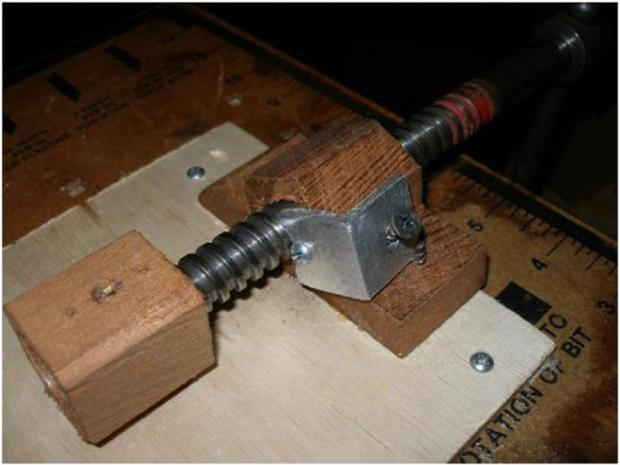 Wooden Lead Screws