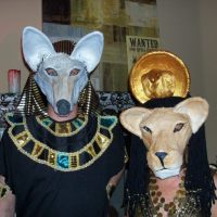 Egyptian God and Goddess&nbsp;Masks