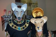 Egyptian God and Goddess Masks
