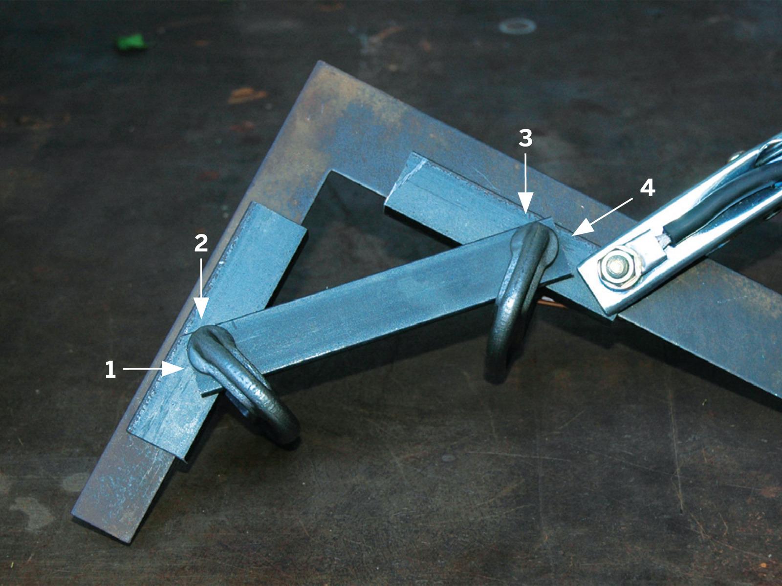Приспособления для сварки металлоконструкций