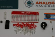 LED &#8220;Hello! My Name Is&#8221; Name Tag&nbsp;Kit