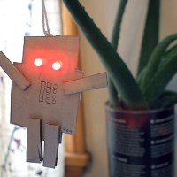 LED Robot Ornament