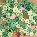 DIY Art With Buttons Tutorial
