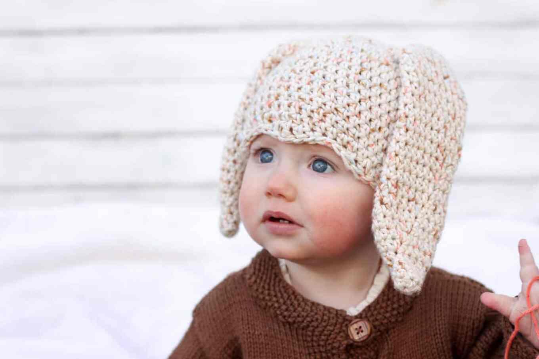 Newborn Single Crochet Hat Pattern : Free Crochet Bunny Hat Pattern (Newborn-Toddler) - Make ...
