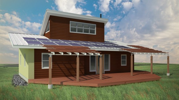 Sustainable Native Communities Collaborative home design CREDIT Make It Right